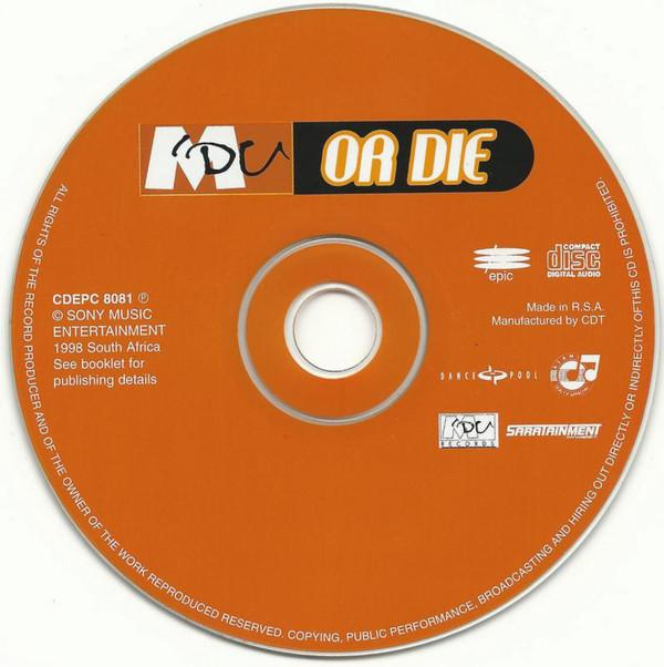 1998 M'du Masilela - Godfather of Kwaito Music - Album - M'du or die (CD, Album) - cd cover