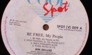MM DELUXE - Be Free My People (1990) - Mdu Masilela & Mandla Spikiri Mofokeng 2